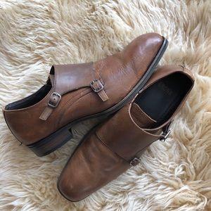 Monk strap dress shoes